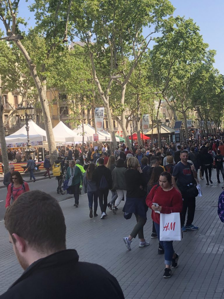 dagje Barcelona in Spanje