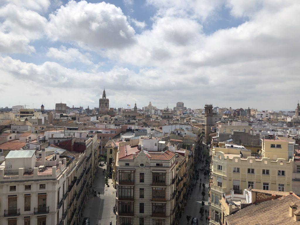 uitzicht stadsburcht Valencia