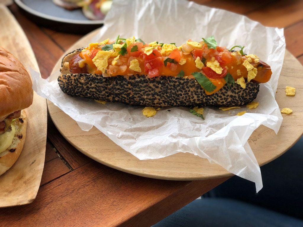 Latin hotdog bij Strandzuid in Amsterdam review