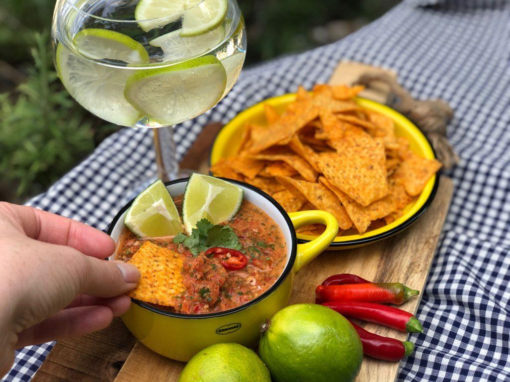 pittige Mexicaanse salsa saus