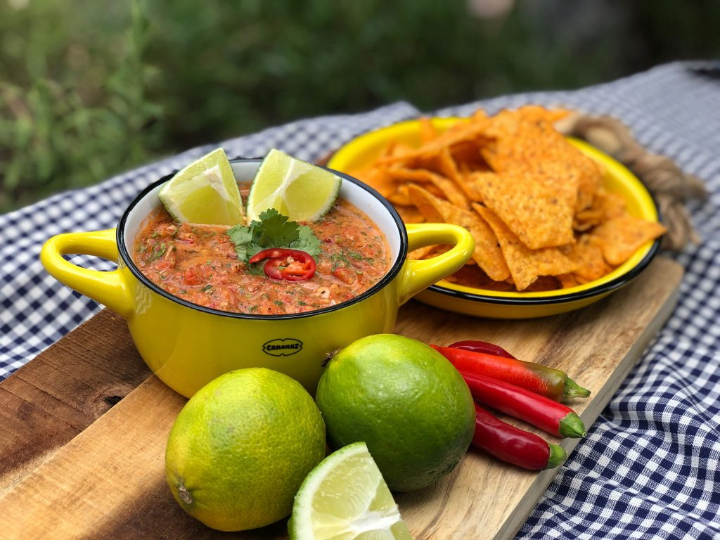 recept pittige Mexicaanse salsa saus