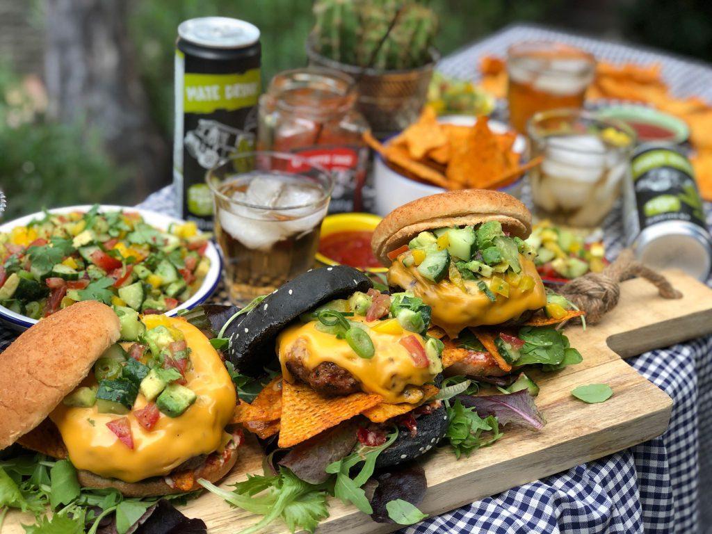 recept Mexicaanse hamburger met frisse salsa