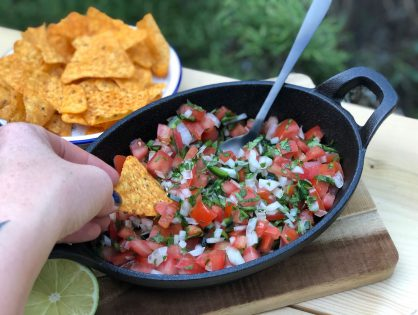 pico de gallo: Mexicaanse salsa