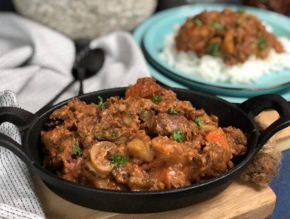 Potjie Kos: stoofpot op Zuid Afrikaanse wijze.