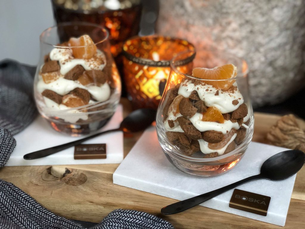 tiramisu met kruidnoten en mandarijn recept