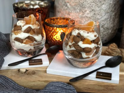 Tiramisu met kruidnoten en mandarijn