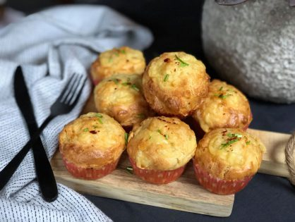 Pittige kaasmuffins : hartige snack