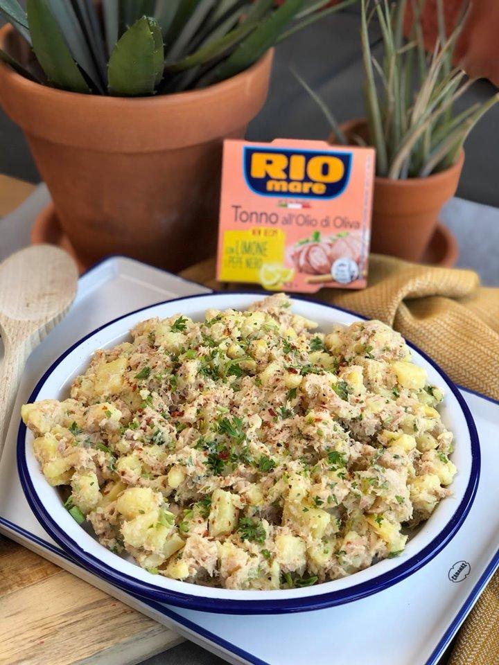 aardappelsalade met tonijn een heerlijk simpel recept