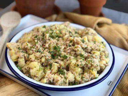 aardappelsalade met tonijn: simpel recept