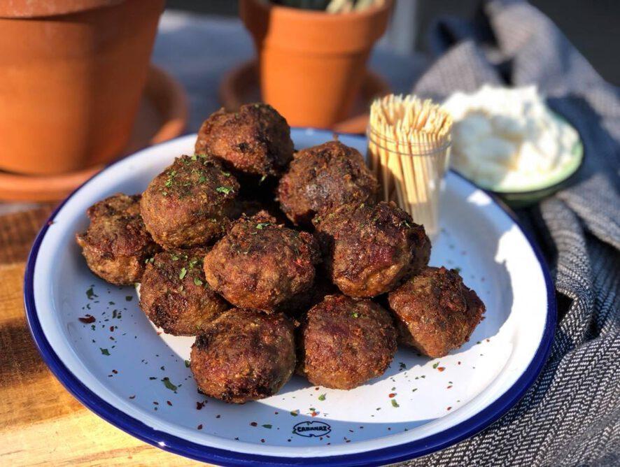 Gehaktballetjes met chorizo: tapas hapje