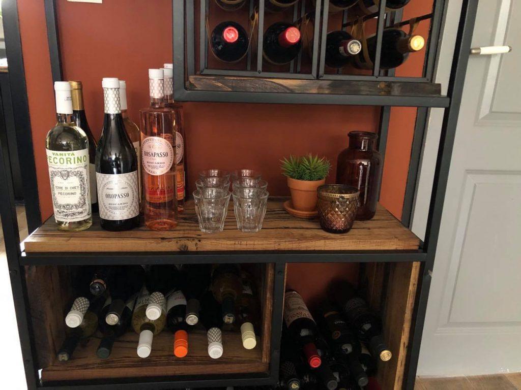 wijnkast zelf maken