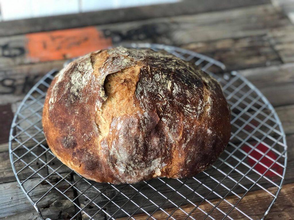 no knead bread maken