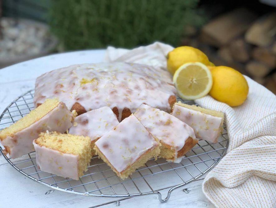 citroencake met citroenglazuur: simpel recept