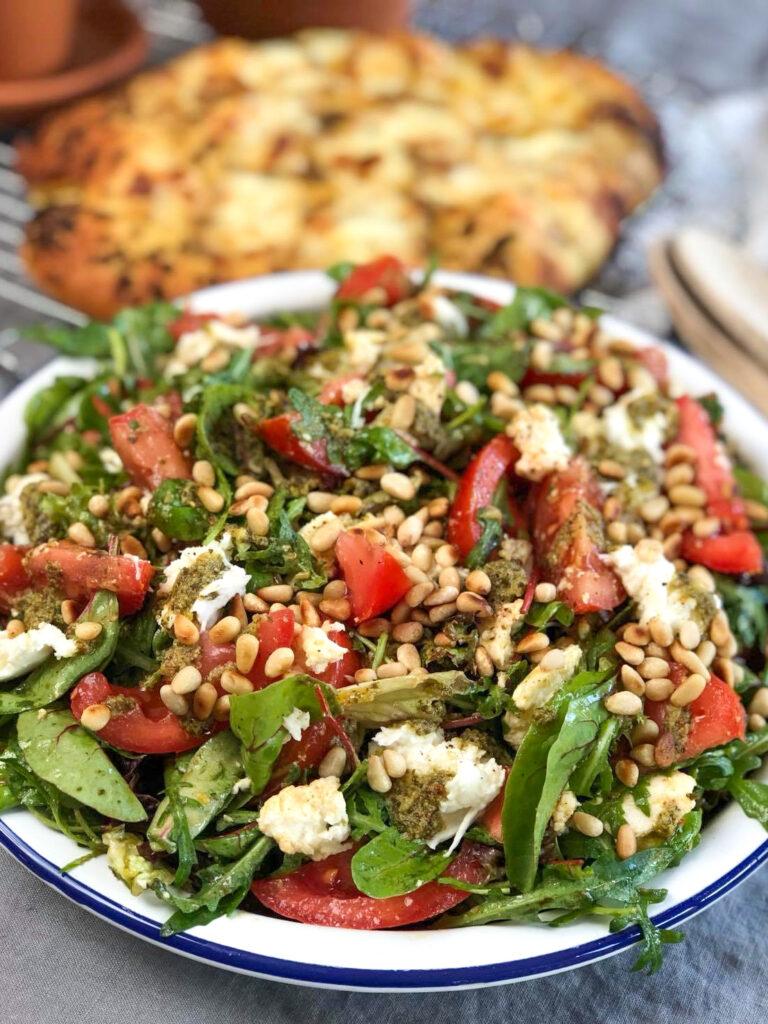 gezonde salade caprese