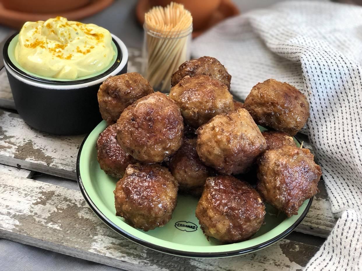 shoarma gehaktballetjes: een heerlijke snack
