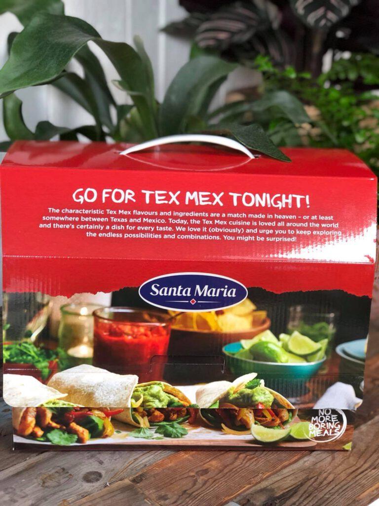 maak een taco salade met kruidig gehakt met de Santa Maria box