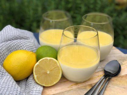 Panna cotta met citroen: simpel recept