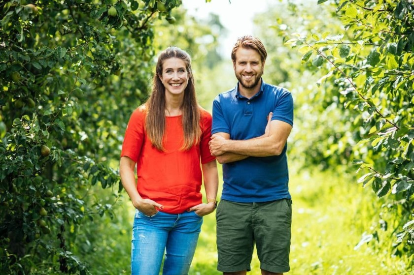 Stijn en Stephanie oprichters van  Boerschappen