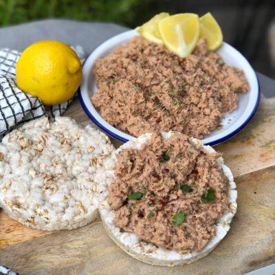 tonijnsalade met Italiaanse kruiden