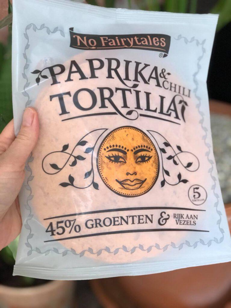 recept met groententortilla's van No Fairytales