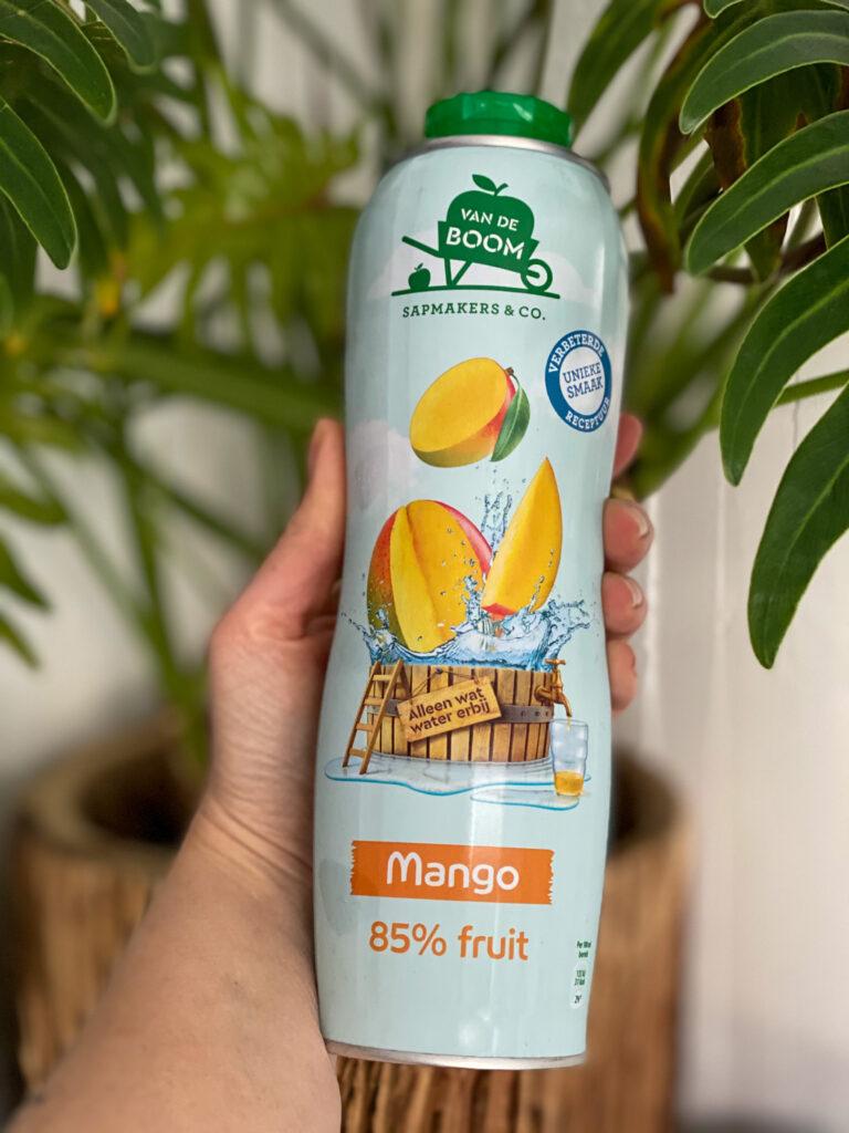 mango limonadesiroop Van de Boom