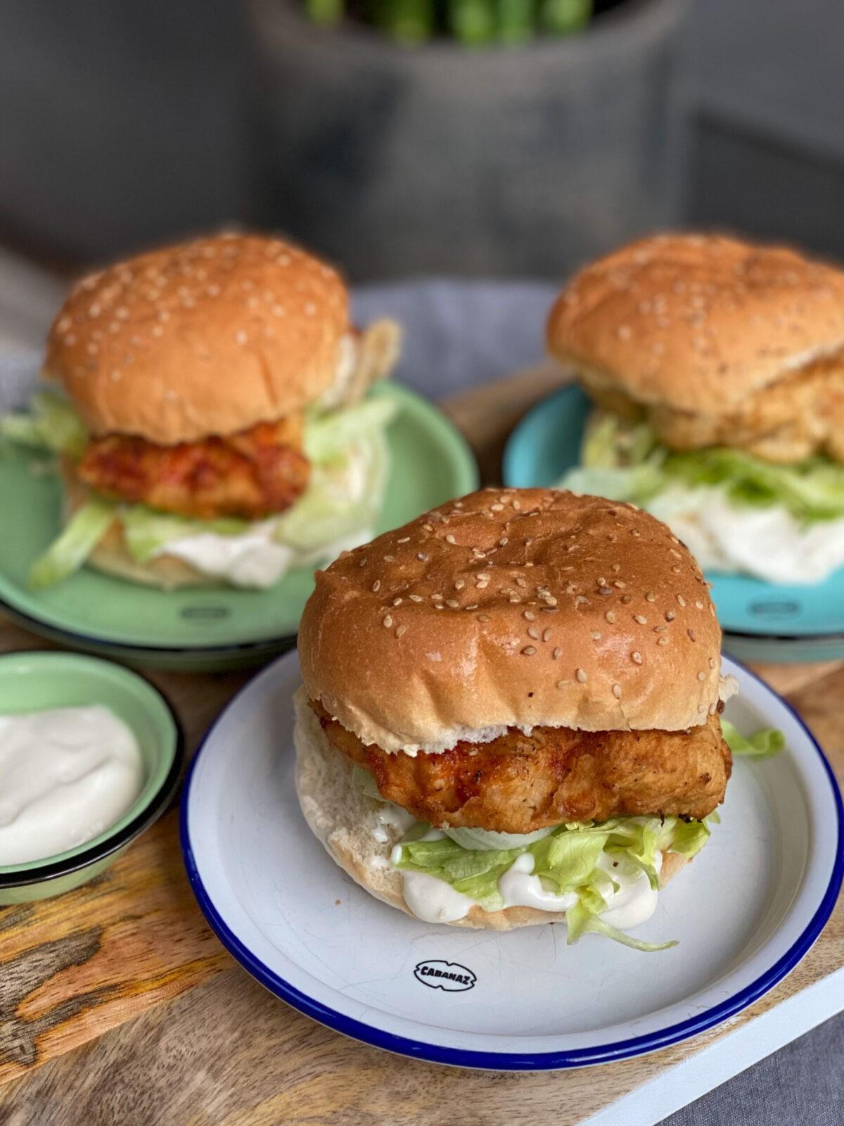 Mc Chicken McDonald's zelf maken