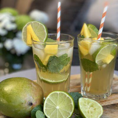 alcoholvrij Mojito met mango