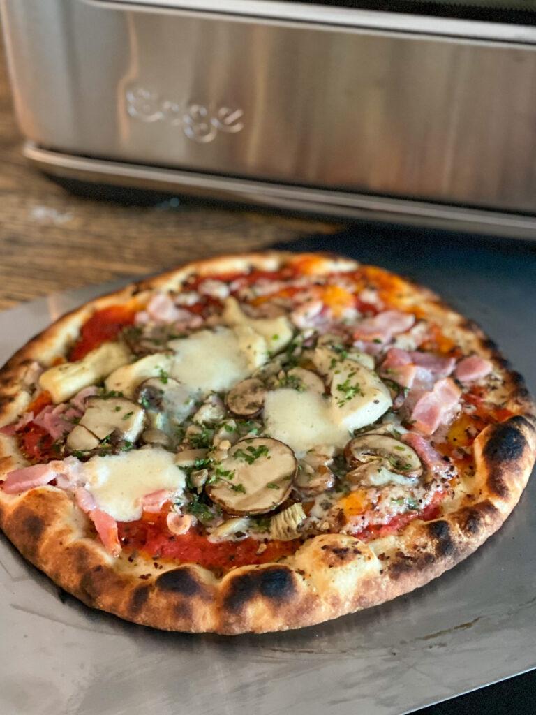 zelf verse pizza bakken in een pizzaoven