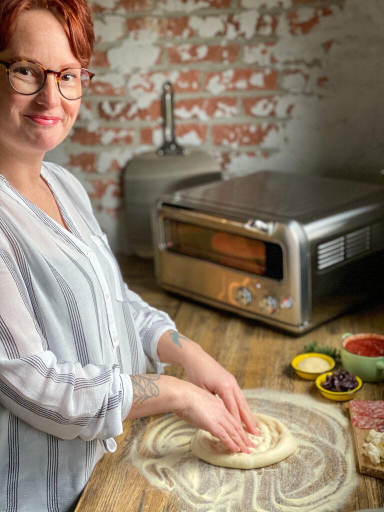 zelf thuis pizza's bakken