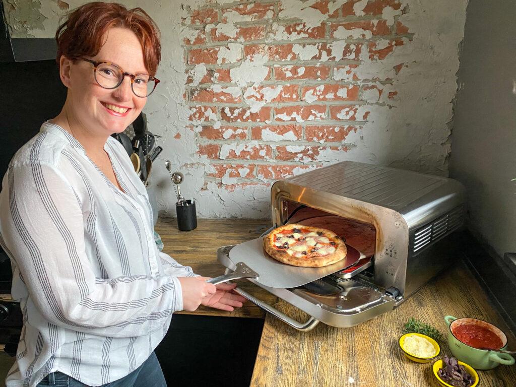 zelf thuis pizza bakken in de pizzaiolo van Sage Appliances