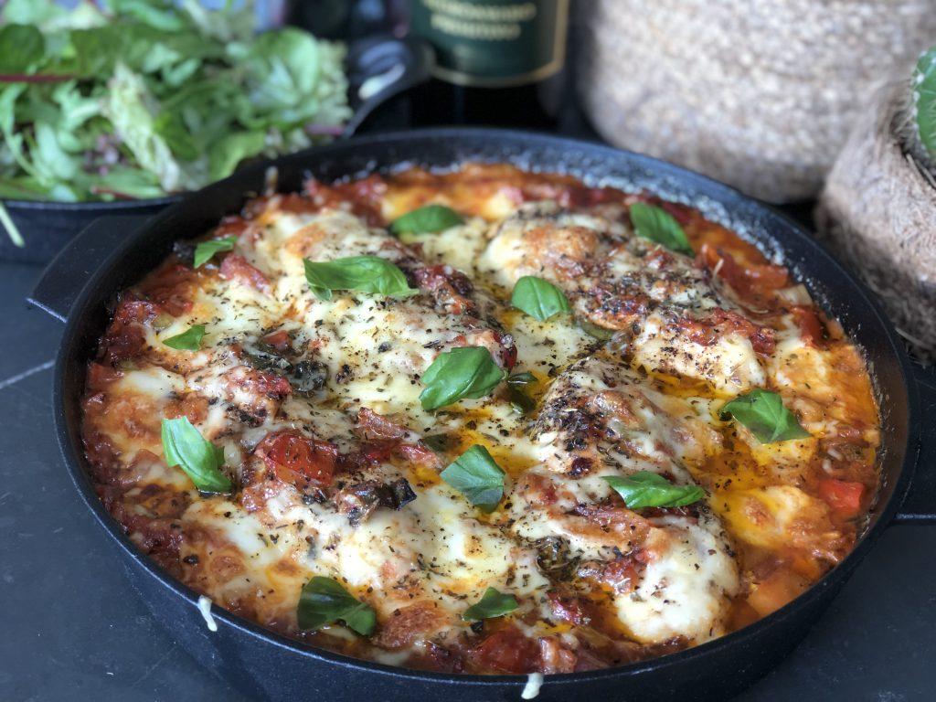 kip in pittige tomatensaus ovenschotel: 15 ovenschotel recepten