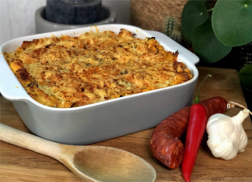 ovenschotel met prei, wortel en chorizo: 15 ovenschotel recepten