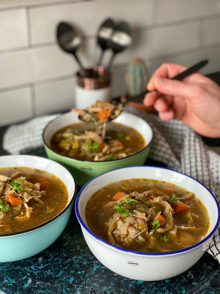 kippensoep met soepkip