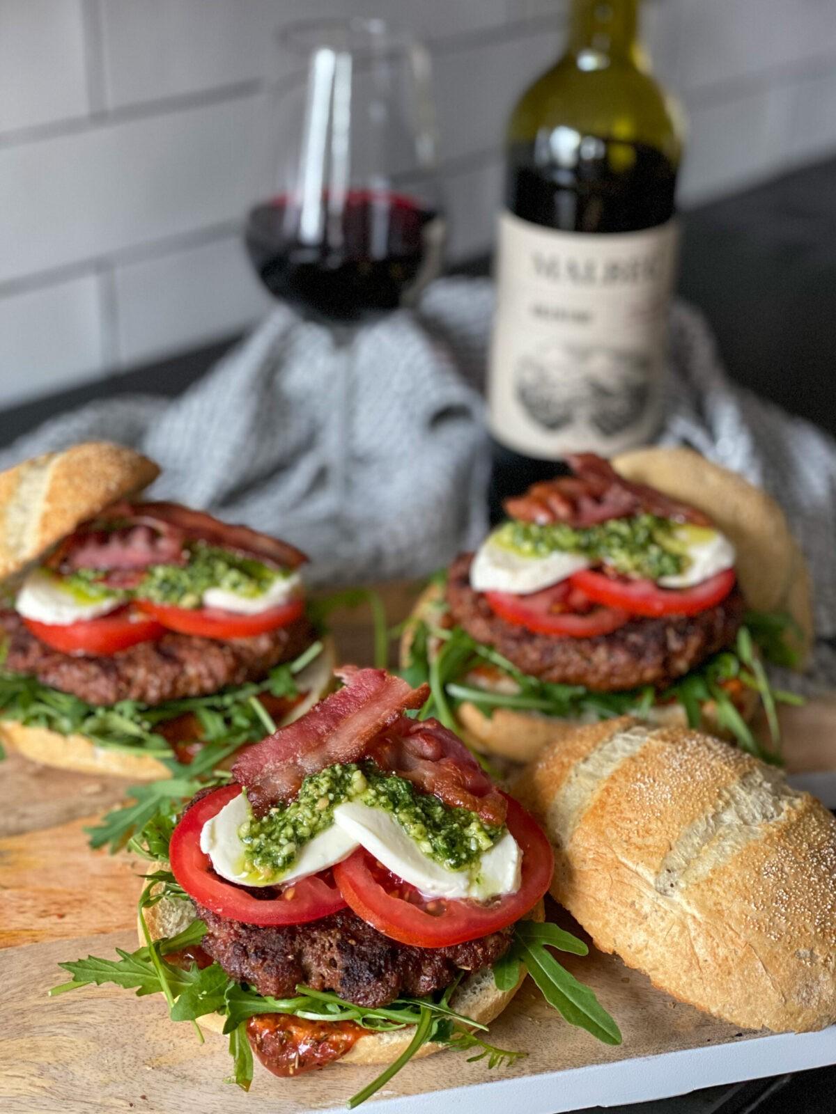 Italiaanse hamburger