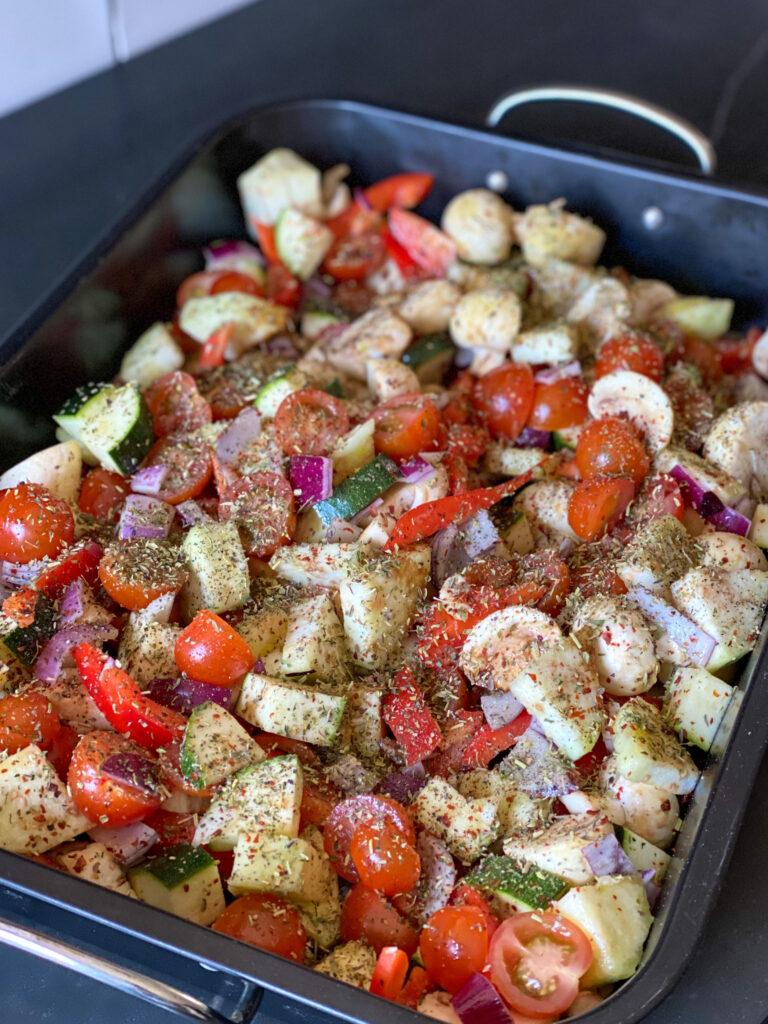 groenten roosteren in de oven