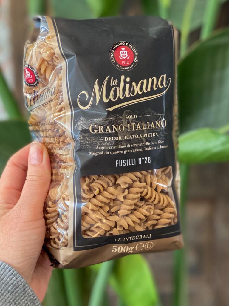 volkoren pasta van Molisana