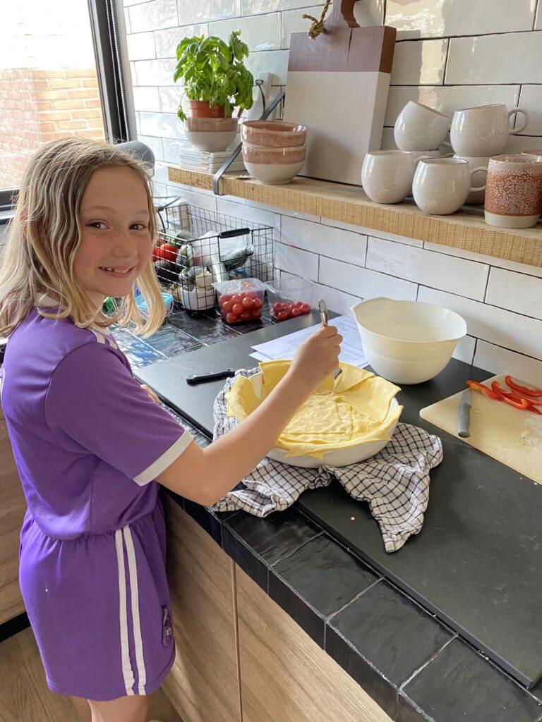 kinderen zelf laten koken