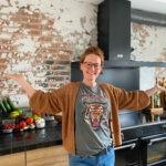 super trots op onze nieuwe keuken