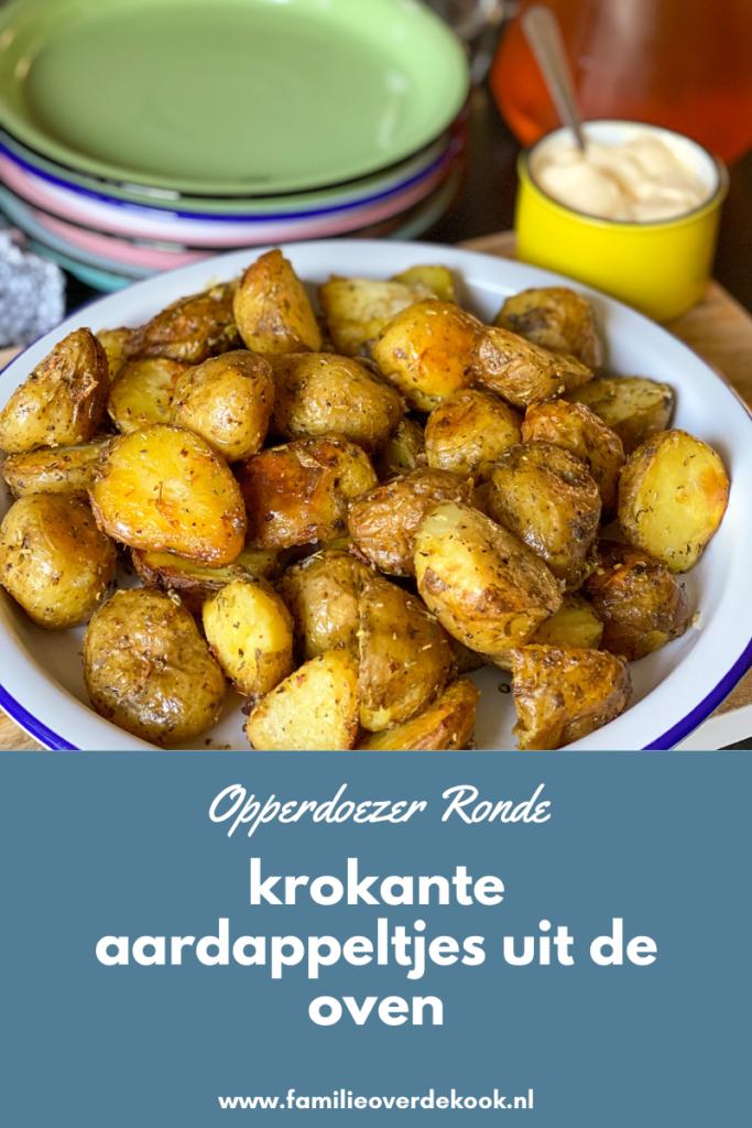 krokant gebakken aardappeltjes uit de oven