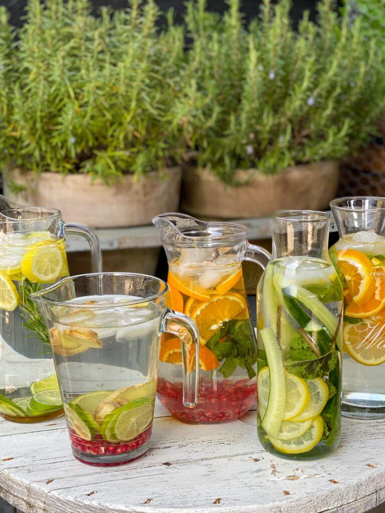 fruit water maken