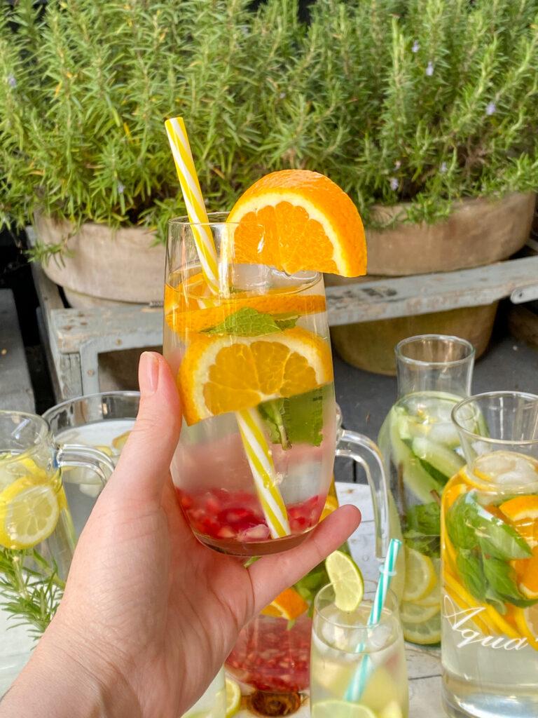 water met fruit maken