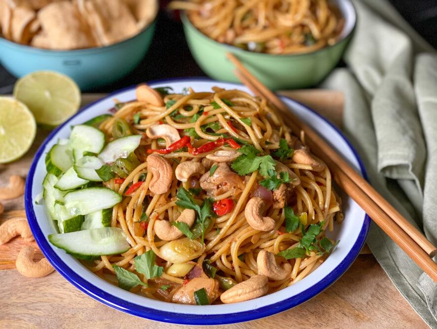 Thaise noedels: makkelijke maaltijd
