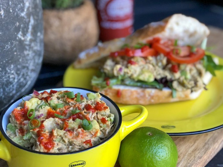 tonijnsalade met avocado
