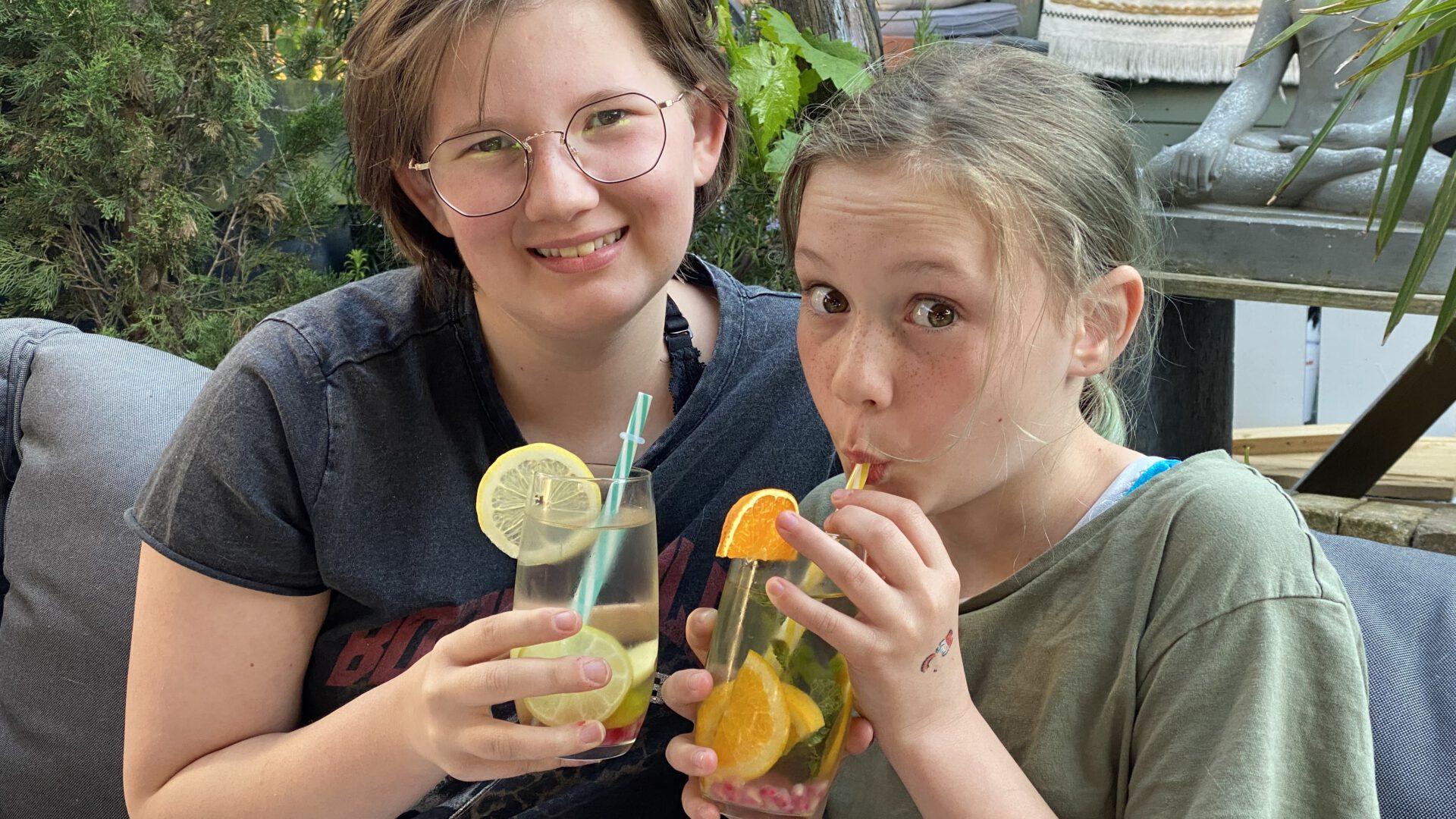 Kinderen meer water laten drinken