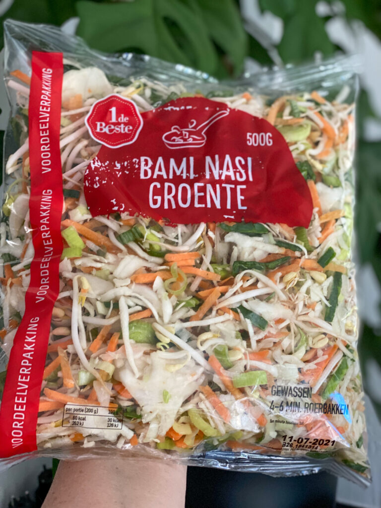 bami nasi groenten