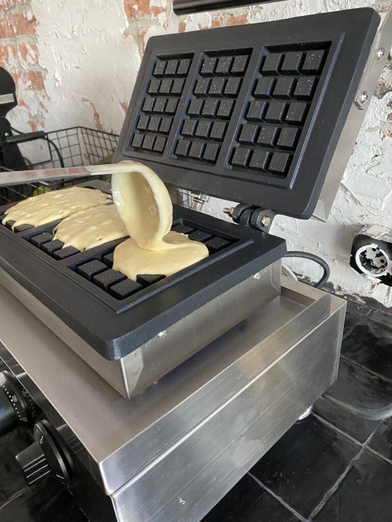 zelf wafels maken