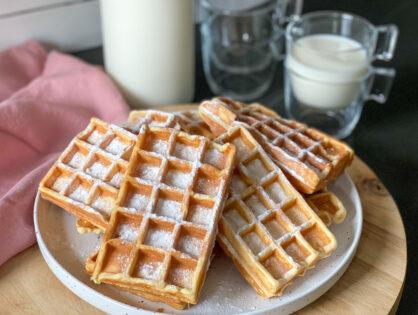 Zelf wafels maken in een wafelijzer: 2 basisrecepten