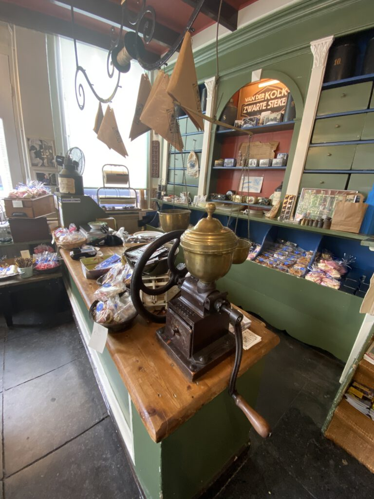 Oud Hollandse snoepwinkel in Zwolle
