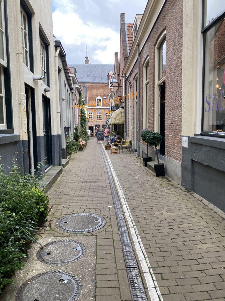 straatjes in Zwolle