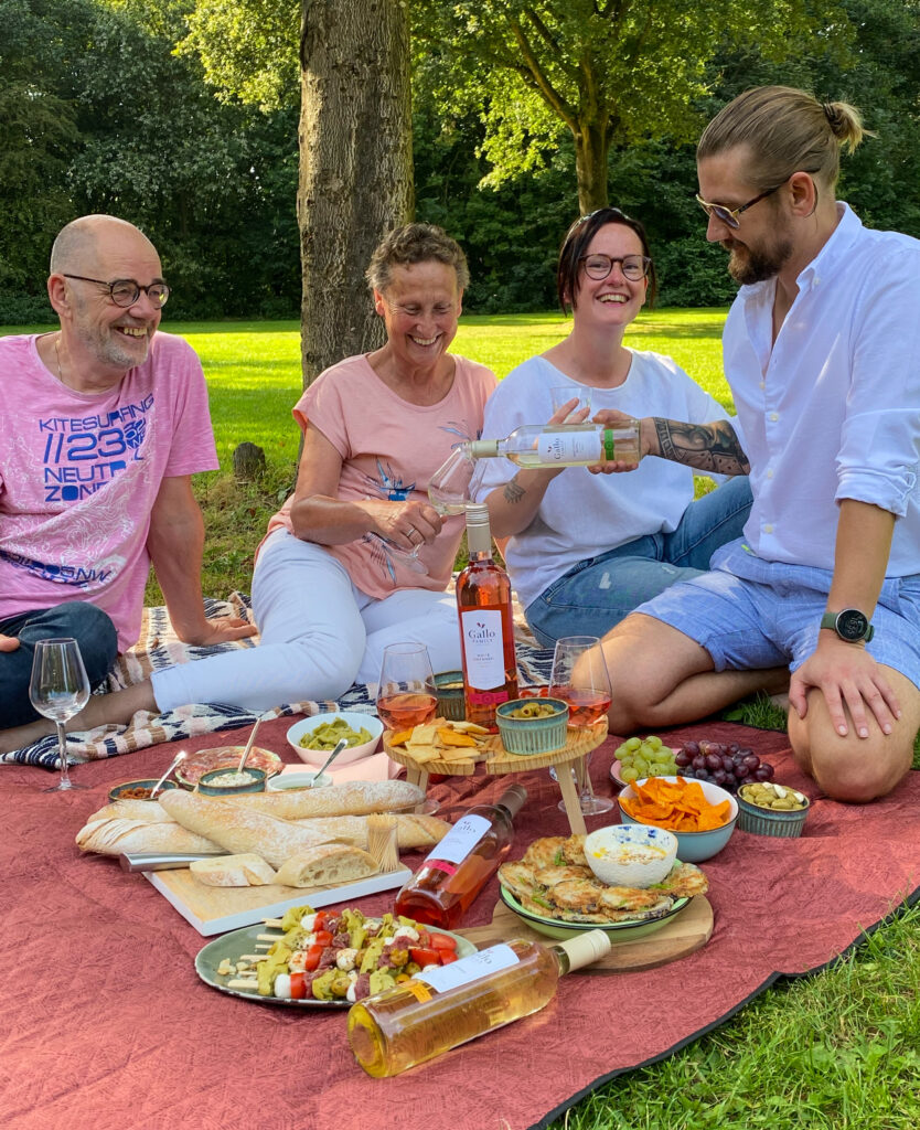 picknicken zonder stress, high wine picknick